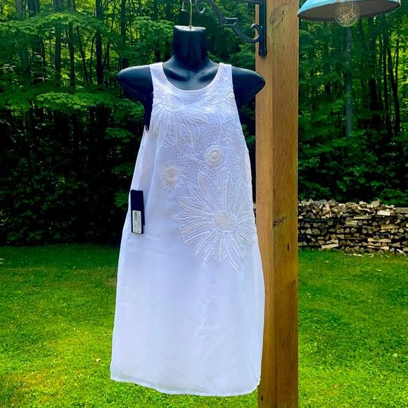 White, Marciano dress NWT